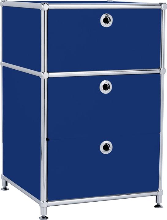 FLEXCUBE Korpus 401808500040 Grösse B: 40.0 cm x T: 40.0 cm x H: 62.5 cm Farbe Blau Bild Nr. 1