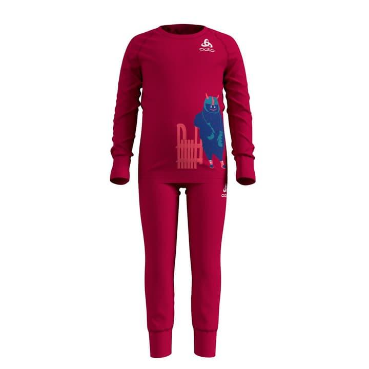 Kinder-Thermoset Warm Odlo 472359310429 Farbe pink Grösse 104 Bild-Nr. 1