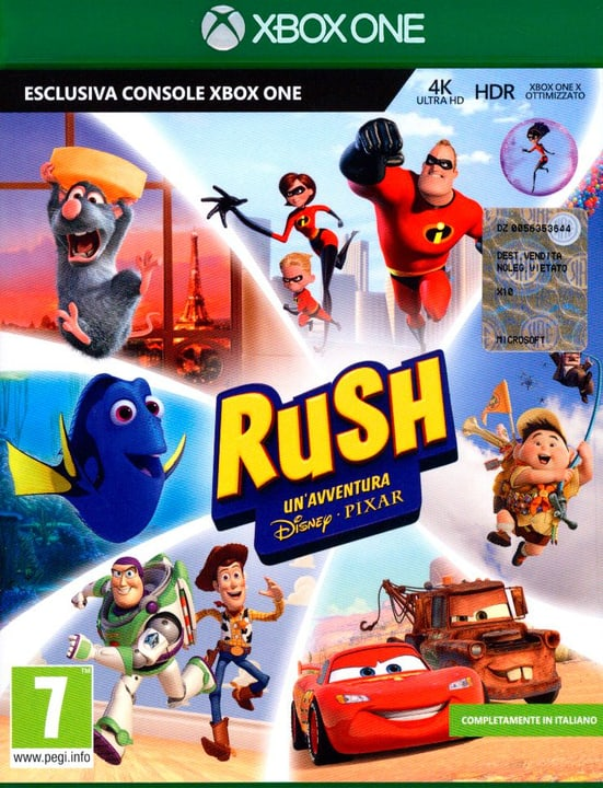 Xbox One - Rush 785300129855 N. figura 1