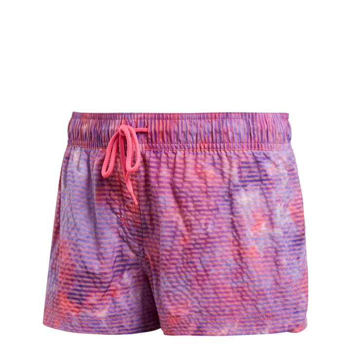Beach women short allover printed Short de bain pour femme Adidas 463100903817 Couleur framboise Taille 38 Photo no. 1