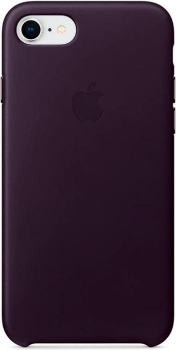 iPhone 8/7 Leather Case Aubergine Apple 785300130144