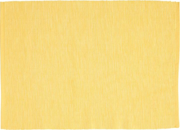 ANIKE set de table 440285400050 Couleur Jaune Dimensions L: 45.0 cm x P: 33.0 cm Photo no. 1