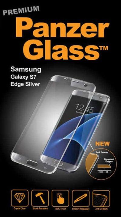 Premium Samsung Galaxy S7 Edge - silber Schutzfolie Panzerglass 785300134491 Bild Nr. 1