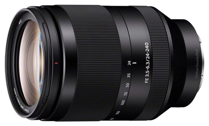 E-Mount FE Zoom 24-240mm OSS objectif Objectif Sony 785300125832 Photo no. 1