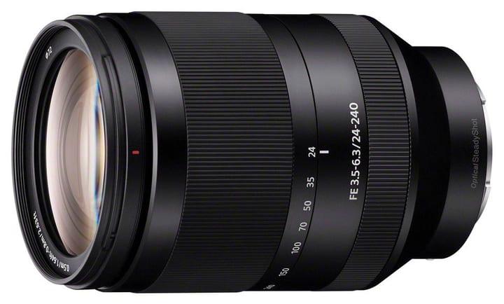 E-Mount FE Zoom 24-240mm OSS objectif Sony 785300125832 Photo no. 1