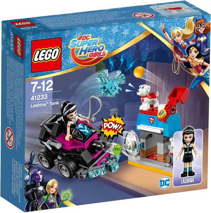 Lego DC Super Hero Girls Lashinas Action-Cruiser 41233 748857400000 Bild Nr. 1