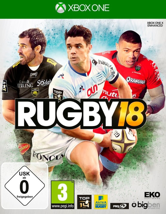 Xbox One - Rugby 18 Physique (Box) 785300129600 Photo no. 1