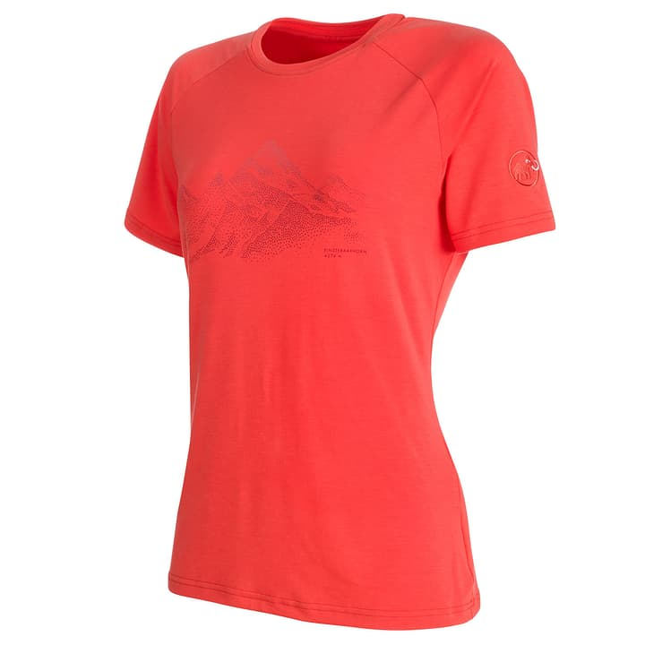 Mountain T-shirt pour femme Mammut 462778400457 Couleur corail Taille M Photo no. 1
