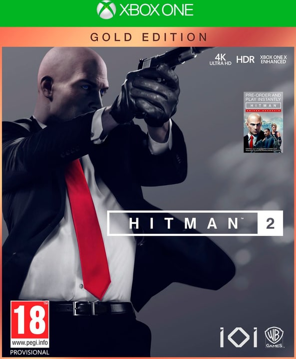 Xbox One - Hitman 2 - Gold Edition (D/F) Box 785300137074 N. figura 1