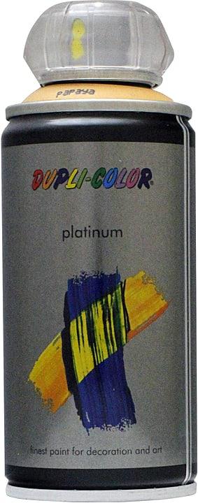 Vernice spray Platinum opaco Dupli-Color 660824600000 Colore Papaia Contenuto 150.0 ml N. figura 1