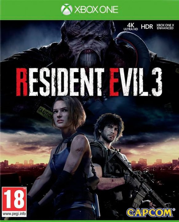 Xbox One - Resident Evil 3 Box 785300150699 Photo no. 1