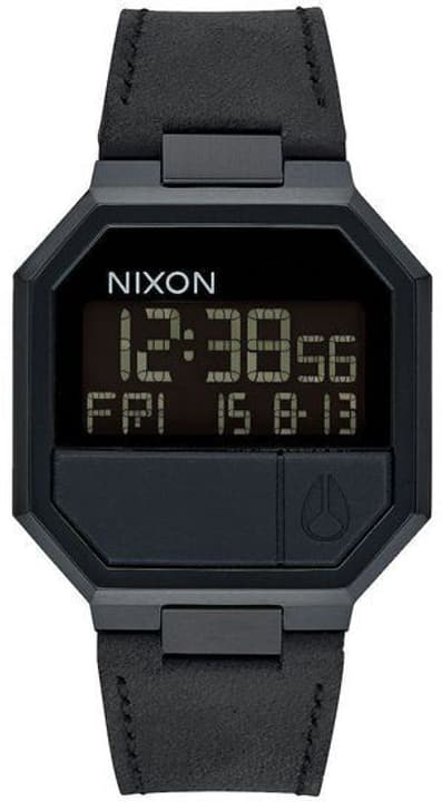 Re-Run Leather All Black 38 mm Orologio da polso Nixon 785300137042 N. figura 1