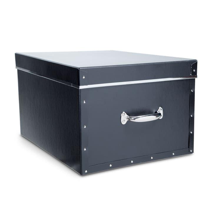 BIGSO boîte archive 386263100000 Dimensions L: 50.0 cm x P: 38.0 cm x H: 29.0 cm Couleur Noir Photo no. 1