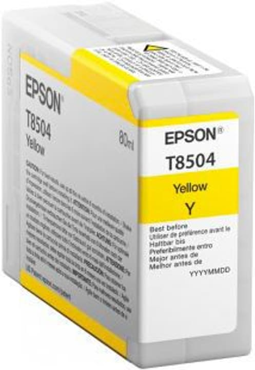 T8504  gelb Tintenpatrone Epson 785300122838 Bild Nr. 1