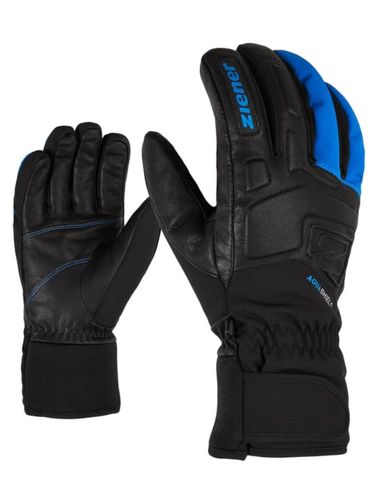 Glyxus Gants de ski pour homme Ziener 496479309540 Couleur bleu Taille 9.5 Photo no. 1