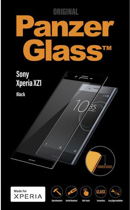 Screen Protector Premium Black Sony Xperia XZ1 Protection d'écran Panzerglass 785300132558 Photo no. 1
