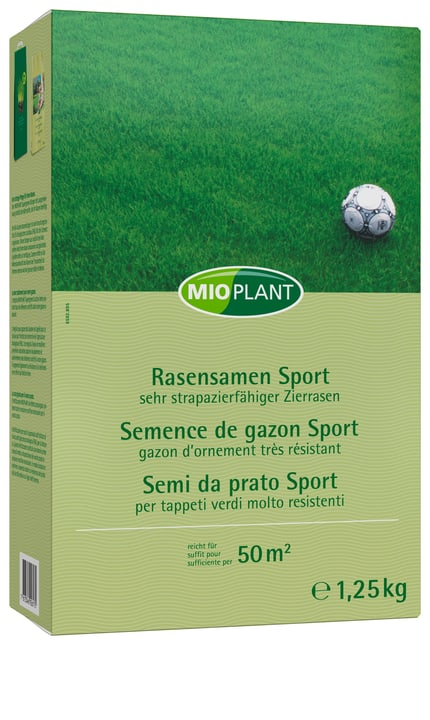 Rasensamen Sport, 50 m2 Mioplant 659289500000 Bild Nr. 1