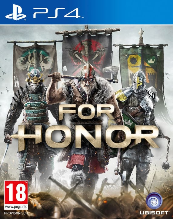 PS4 - For Honor Physisch (Box) 785300121526 Bild Nr. 1
