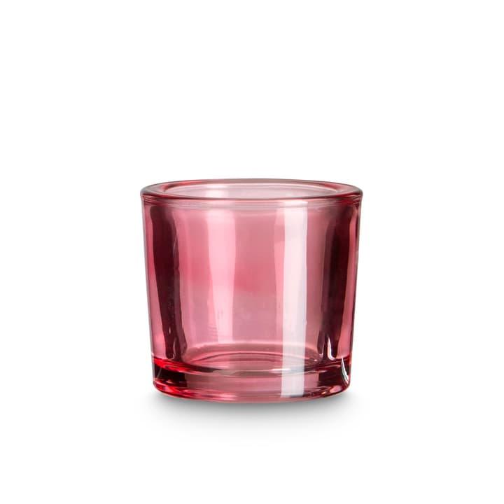BUNT Teelichthalter 396081400000 Grösse B: 6.5 cm x T: 6.5 cm x H: 5.8 cm Farbe Pink Bild Nr. 1