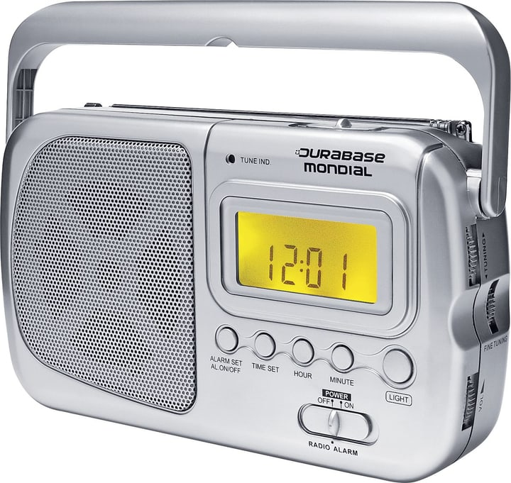 Mondial Portable Radio FM Durabase 773001700000 Photo no. 1