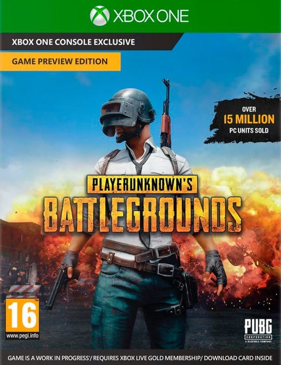 Xbox One - Playerunknown's Batttlegrounds (I) Box 785300131168 N. figura 1