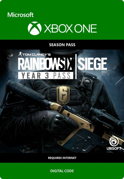 Xbox One - Rainbow Six Siege Year 3 Pass Download (ESD) 785300135633 N. figura 1