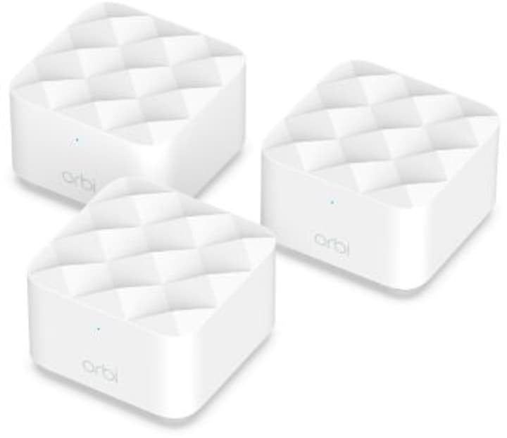 Orbi RBK13-100PES AC1200 Dualband WiFi Set Mesh WLAN System Netgear 785300151579 Bild Nr. 1