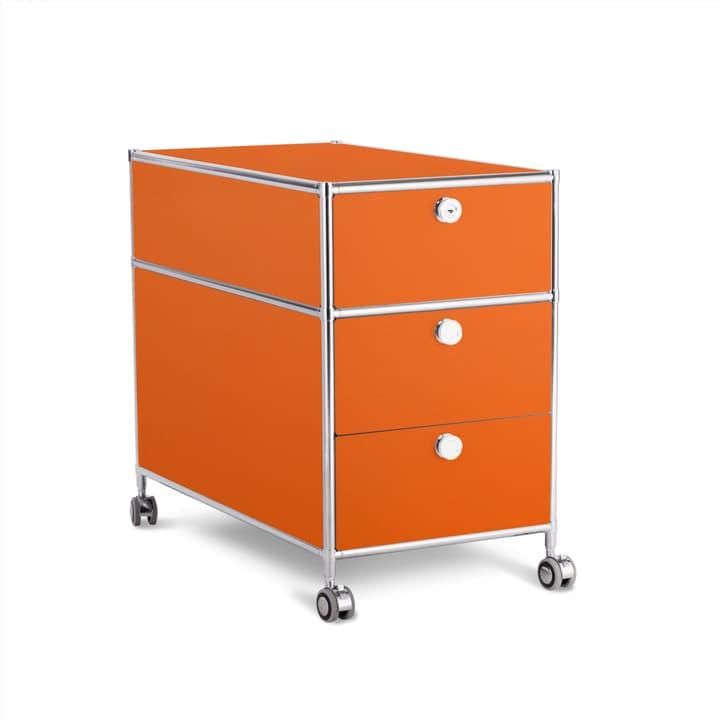 QUADRO Cassettiera 364016200000 Dimensioni L: 42.0 cm x P: 77.0 cm x A: 67.5 cm Colore Arancione N. figura 1