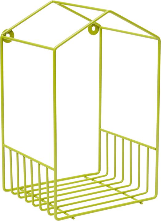 BARRY Scaffale pensile 431838919260 Colore Verde Dimensioni L: 16.2 cm x P: 14.2 cm x A: 26.8 cm N. figura 1