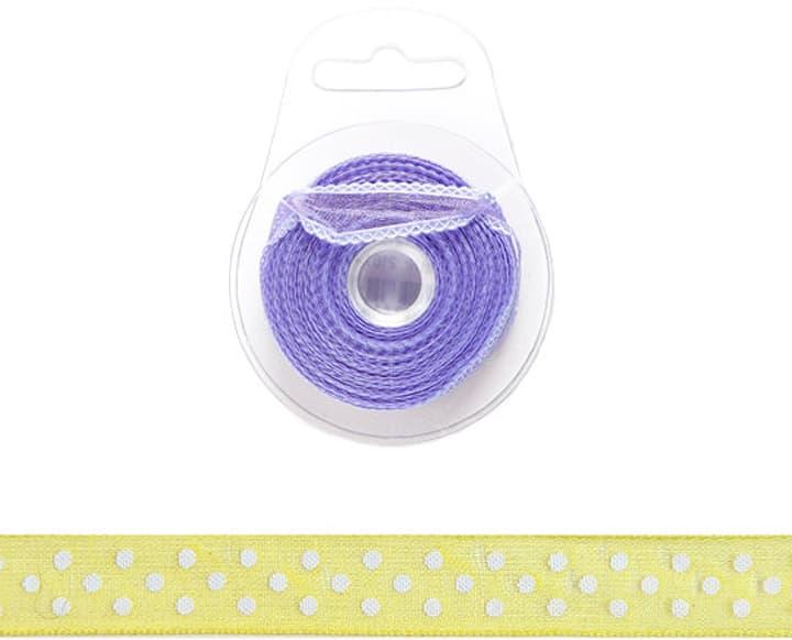Tupfenband 10mm x 8m I am Creative 665316200000 Farbe Gelb Bild Nr. 1