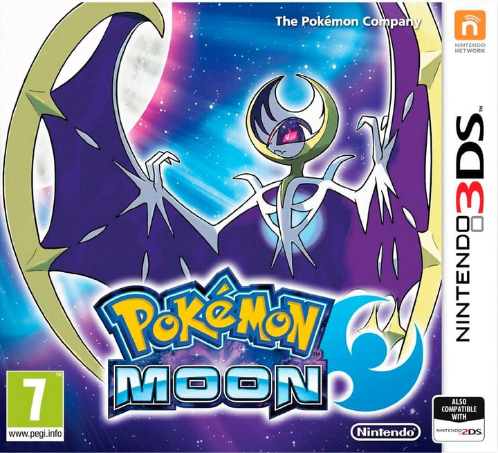 3DS - Pokémon Mond incl. Steelbook Fisico (Box) 785300121268 N. figura 1