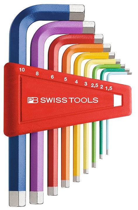 Inbusschlüsselsatz PB210H CNRB PB Swiss Tools 602758000000 Bild Nr. 1