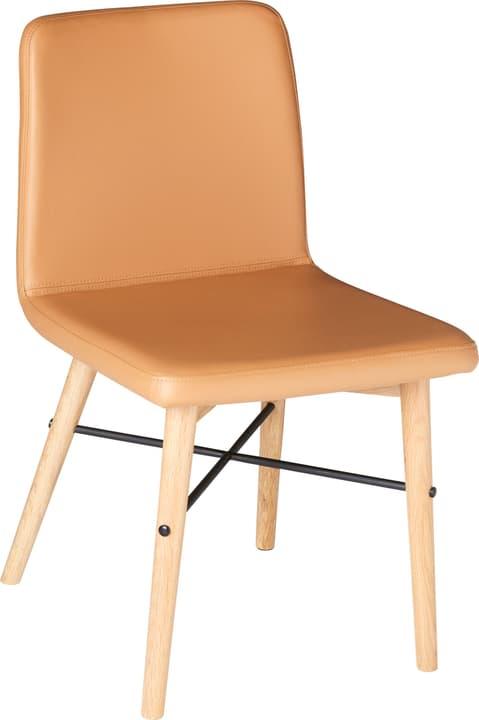 CAPUTO Chaise 402356801469 Dimensions L: 47.0 cm x P: 59.0 cm x H: 81.0 cm Couleur Camel Photo no. 1