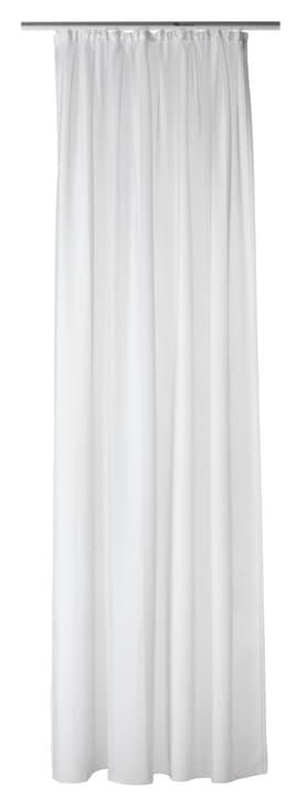 TACIANA Fertigvorhang Tag 430264921710 Farbe Weiss Grösse B: 150.0 cm x H: 250.0 cm Bild Nr. 1