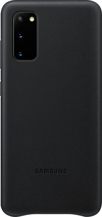 Leather Hard-Cover Schwarz Hülle Samsung 785300151161 Bild Nr. 1