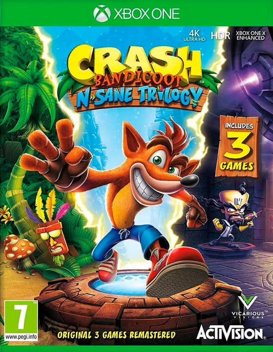 Xbox One - Crash Bandicoot N. Sane Trilogy (I) Fisico (Box) 785300133508 N. figura 1