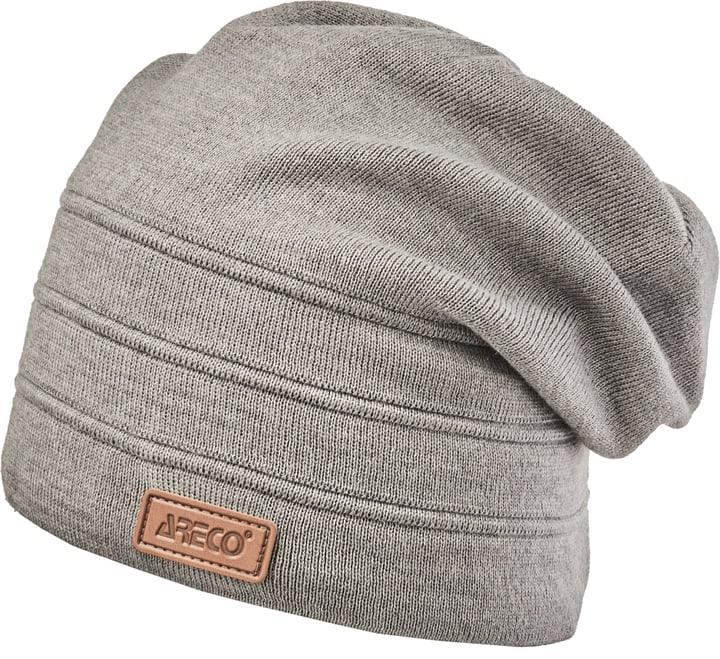 areco mütze grau