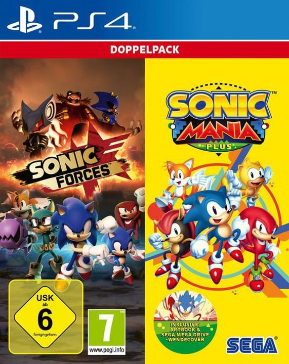 PS4 - Sonic Mania Plus and Sonic Forces Double Pack D Box 785300139879 Bild Nr. 1