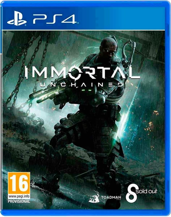 PS4 - Immortal: Unchained (D) Box 785300134772 Photo no. 1
