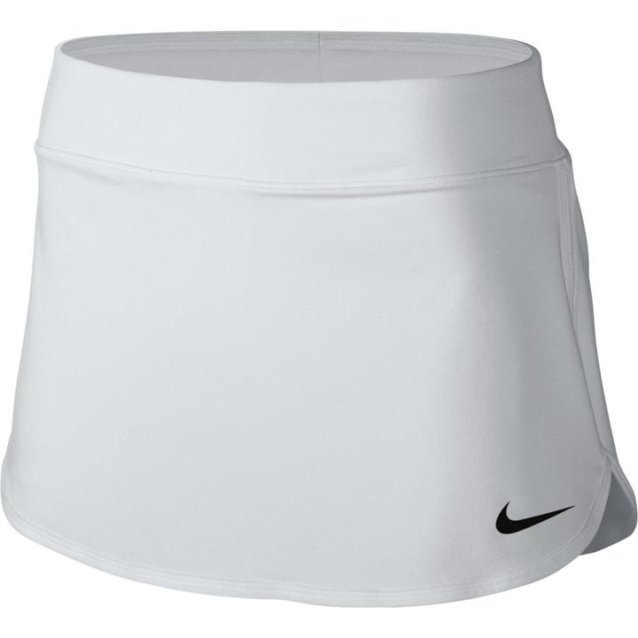 Court Tennis Skirt Damen-Tennis-Jupe Nike 473216400410 Farbe weiss Grösse M Bild-Nr. 1