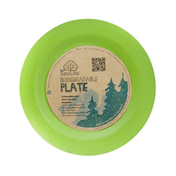 Assiette biodégradable Eco Soulife 491270000060 Couleur vert Taille Taille unique Photo no. 1