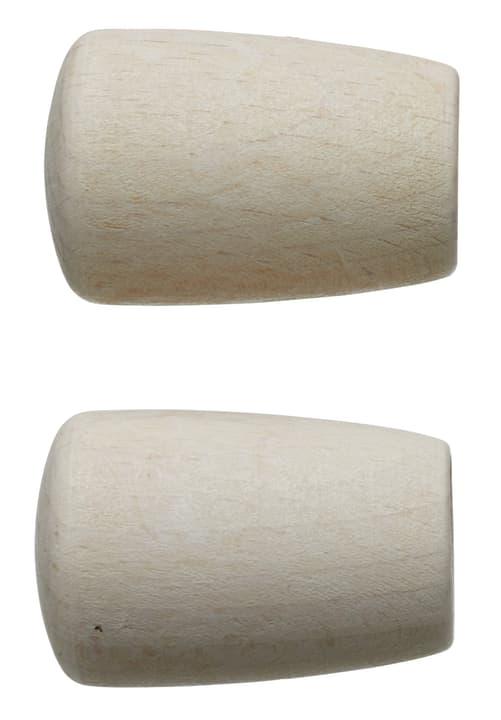 FSC® HOLZ BOTTO Embout 430563800010 Couleur Blanc Dimensions L: 50.0 mm x P: 26.0 mm x H:  Photo no. 1