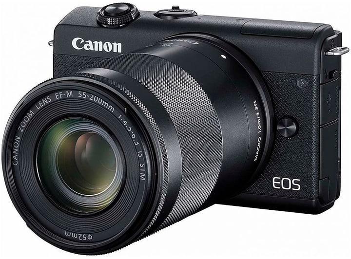 Canon EOS M200 + 15-45 + 55-200 noir Set appareil photo rhybrid 785300147487 Photo no. 1