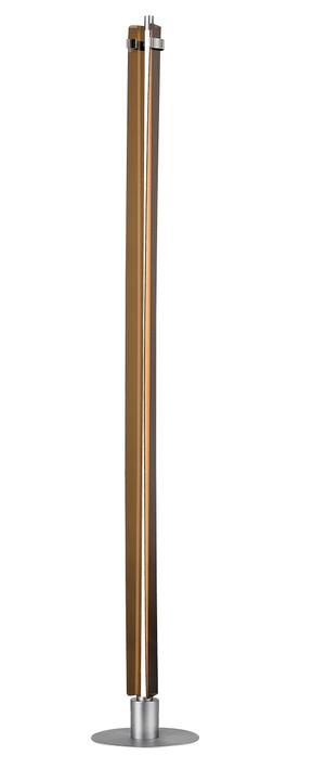 TRI Stehleuchte Edition Interio 380103900000 Grösse B: 23.0 cm x T: 23.0 cm x H: 150.0 cm Farbe Cognac Bild Nr. 1