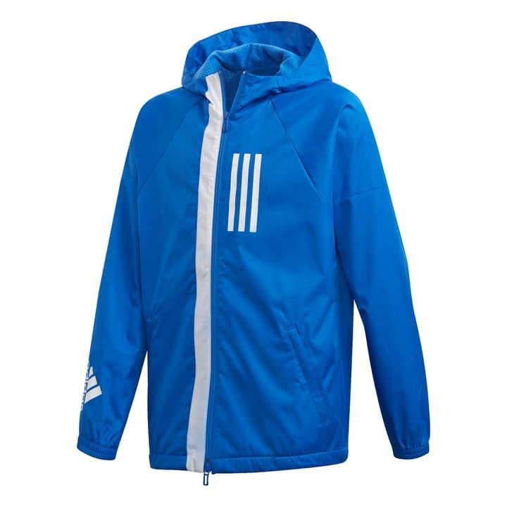 ID WND Wind Jacket Kinder-Windjacke Adidas 464599512840 Farbe blau Grösse 128 Bild-Nr. 1