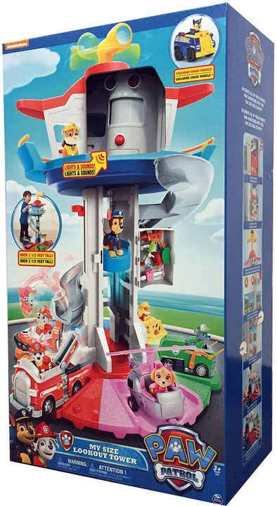 Pat' Patrouille Lookout Tower 76 cm 744550100000 Photo no. 1
