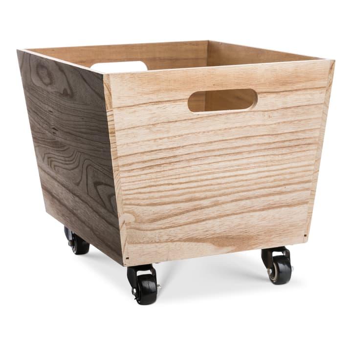 MILAN Holzbox mit Rollen 386296800000 Bild Nr. 1