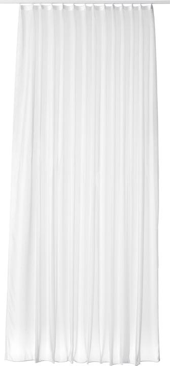 VOILE UNI Fertigvorhang Tag mit Gleiter 430270040010 Farbe Weiss Grösse B: 300.0 cm x H: 235.0 cm Bild Nr. 1