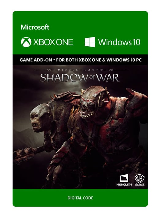 Xbox One - Middle-earth: Shadow of War - Outlaw Tribe Nemesis Expansion Digitale (ESD) 785300135548 N. figura 1