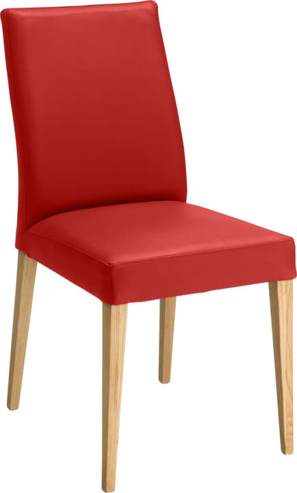 SERRA Chaise 402355500030 Dimensions L: 46.0 cm x P: 57.0 cm x H: 92.0 cm Couleur Rouge Photo no. 1